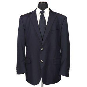 Peter Millar Wool Navy Blue Blazer 46R Recent